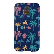 Palm Tree Leaf Pattern Samsung Galaxy S5 Case
