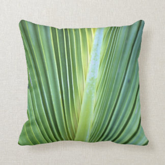 Palm Tree Leaf Pillow