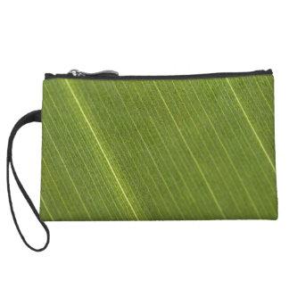 Palm Tree Leaf Wristlet Wallet