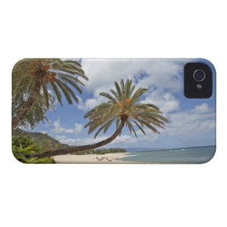 Palm tree leaning out over the sand at Sunset Case-Mate iPhone 4 Case
