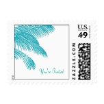 Palm Tree Leaves Postage Stamp