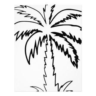 Palm Tree Letterhead