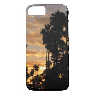 Palm Tree Los Angeles Sunset iPhone Case