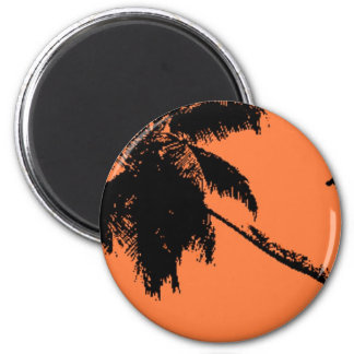 Palm Tree Fridge Magnet