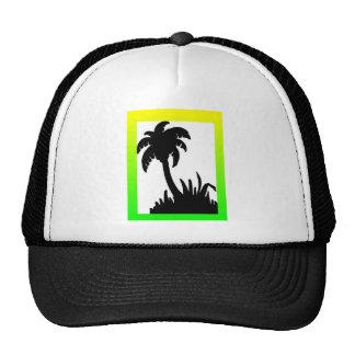 palm tree merchandise trucker hat