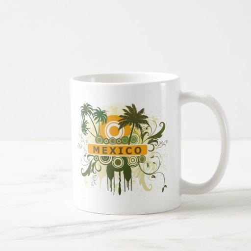 Palm Tree Mexico Mugs
