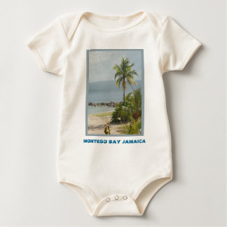 Palm Tree, Montego Bay Jamaica June 2011 Baby Bodysuit