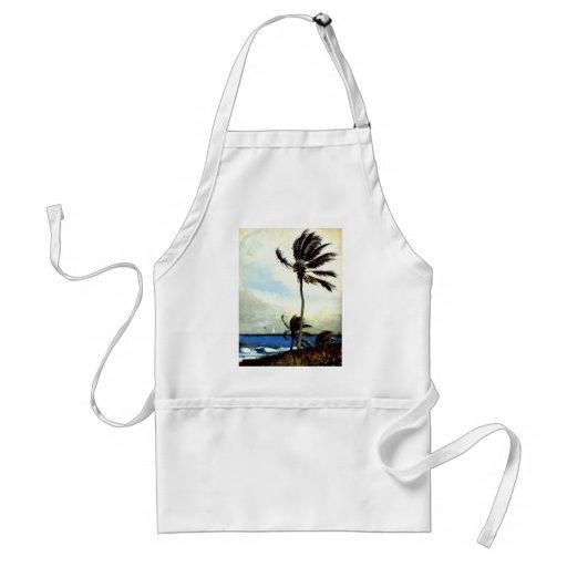 'Palm Tree-Nassau' Apron