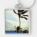 'Palm Tree-Nassau' Keychain