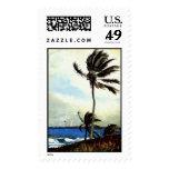 'Palm Tree-Nassau' Postage Stamps