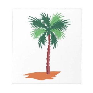 Palm Tree Note Pad
