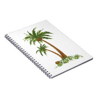 "Palm Tree Notebook 6.8x8.75"""