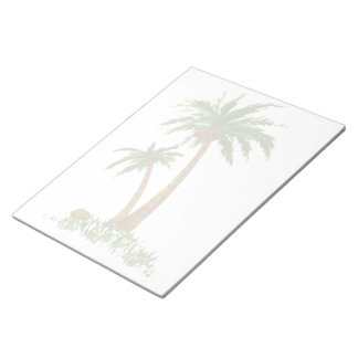 "Palm Tree Notepad 11X8.5"""