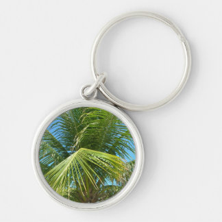 Palm Tree Paradise Keychain