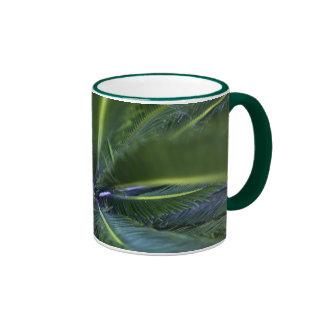 Palm Tree Paradise Ringer Mug