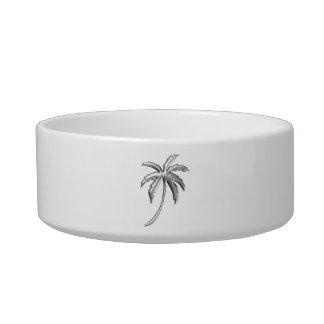 Palm Tree Pet Bowl