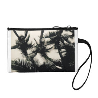 Palm Tree Photo Coin Wallet