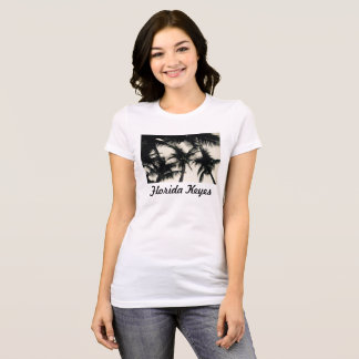 Palm Tree Photo Women's Long T-Shirt