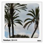 palm tree photograph room graphics