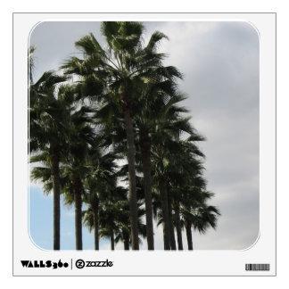 palm tree photograph wall decal