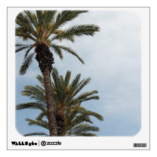 palm tree photograph wall sticker