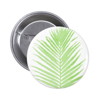 palm tree pinback button