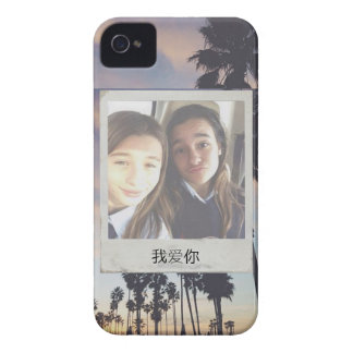 Palm tree Poleroid Picture Case for iPhone 4/4S