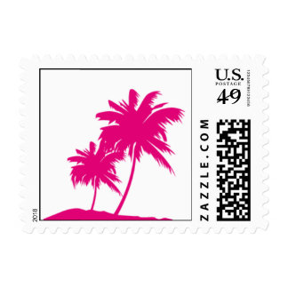 Palm Tree Postage Stamp