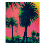 "Palm Tree Poster (12.3"" x 15"")"