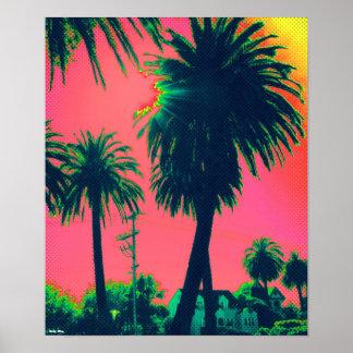 "Palm Tree Poster (12.3"" x 15"")"
