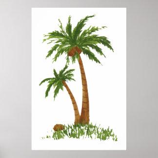 "PALM TREE POSTER 24X36"""