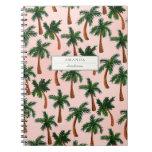 Palm Tree Print Custom Notebook Notebook