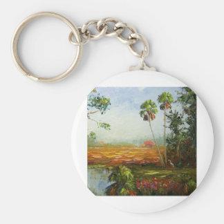Palm Tree Ranch Keychain