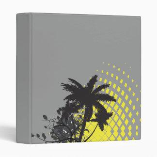 palm tree rays binder
