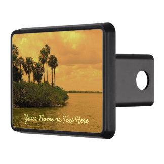 Palm Tree Reverie Custom Hitch Cover