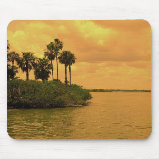 Palm Tree Reverie Mouse Pad