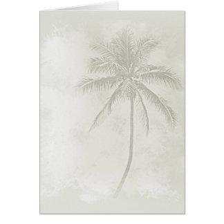 Palm Tree (Sand) Card