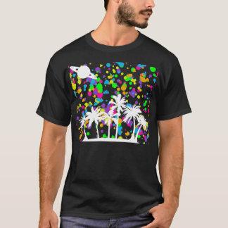 Palm Tree & Saturn T-Shirt