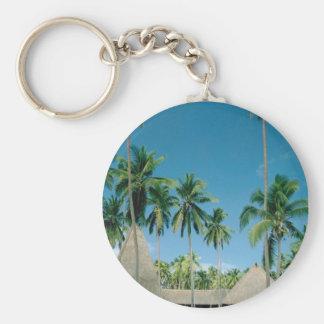 Palm Tree Setting Keychain