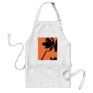 Palm Tree Silhouette Adult Apron