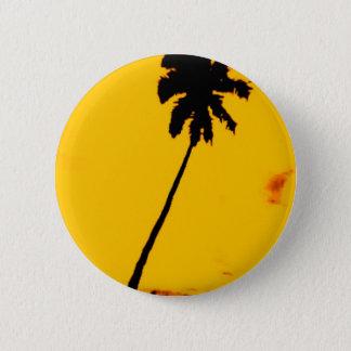 Palm Tree Silhouette Pinback Button