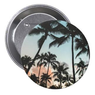 Palm Tree Silhouettes Pinback Button