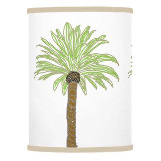 Palm Tree Sketch Lamp Shade