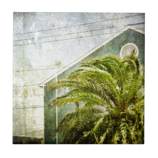 Palm Tree :) Small Square Tile