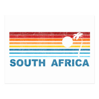 Palm Tree South Africa Postcard