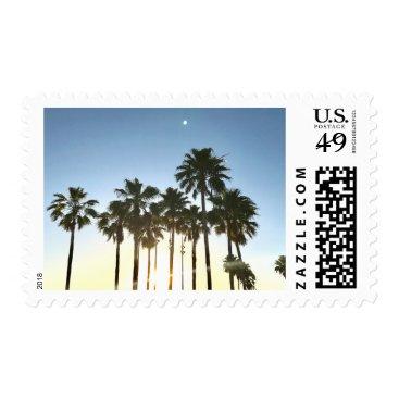Beach Themed Palm Tree Stamp