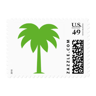 Palm tree stamps