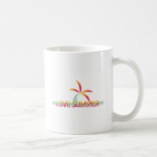 Palm Tree Summer Mugs