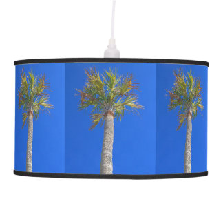 Palm Tree & Sunny Blue Sky Hanging Pendant Lamps