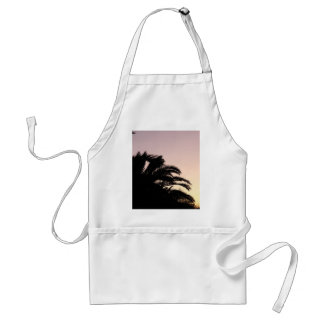 Palm Tree Sunset #2 Adult Apron